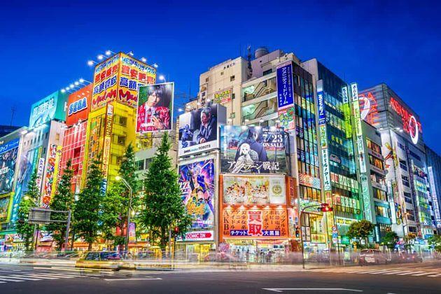 Akihabara District attractions Tokyo shore excursions