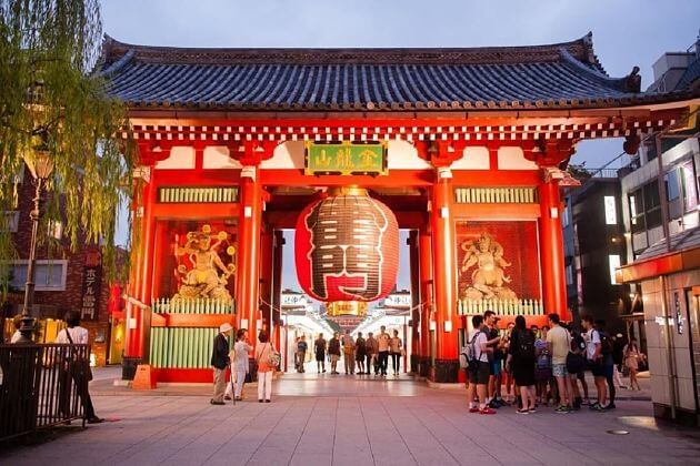 Asakusa Senso-Ji temple-Tokyo-shore-excursions