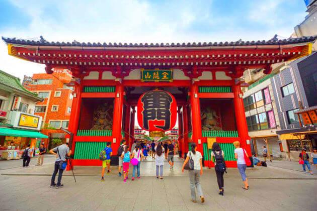 Asakusa Senso-ji Temple Tokyo