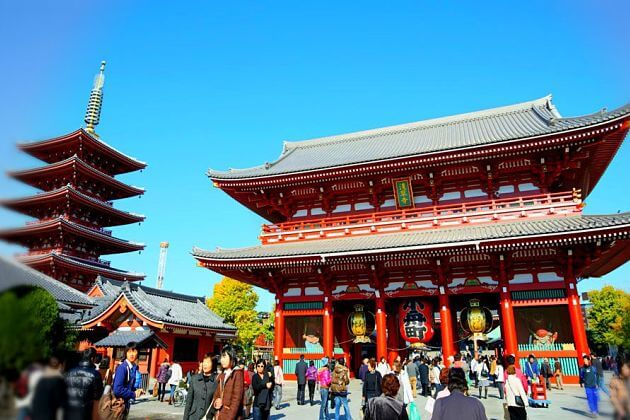 Asakusa Senso-ji Temple shore excursions Yokohama attractions