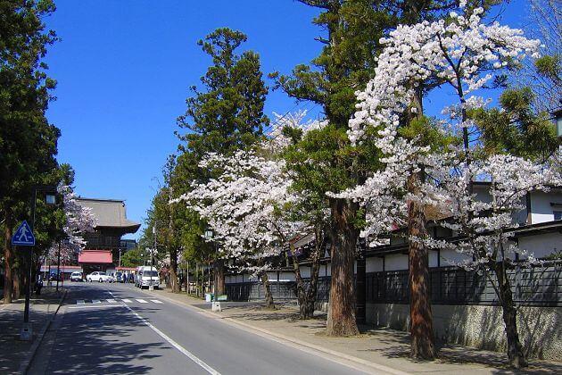 Choshoji Temple in Zenrin-gai