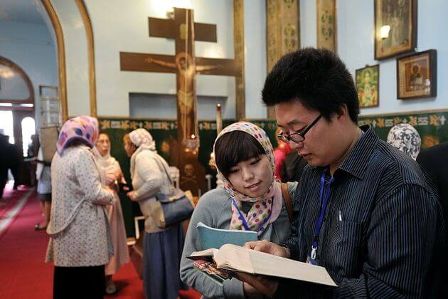 Christianity Religion Japan shore excursions