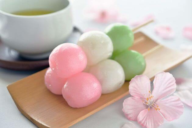 Dango best Japanese dessert
