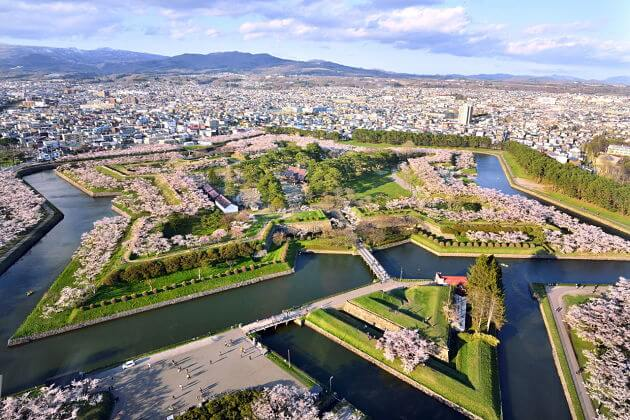 Fort Goryokaku attractions Hakodate shore excursions
