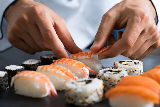 Funfacts about sushi traditional Japanese food
