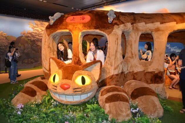 Ghibli Museum attractions for Tokyo shore excursions
