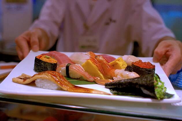 Ginza Kyubey Sushi restaurants in Tokyo