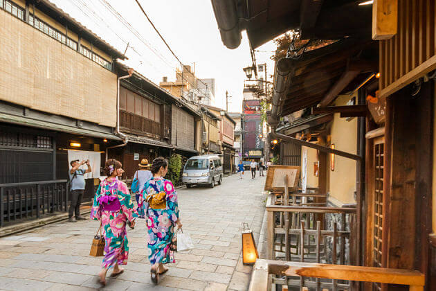 Gion District attraction Kyoto shore excursions