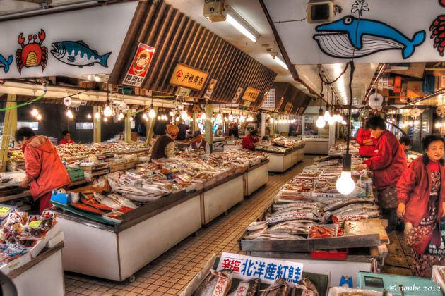 Hakodate-Asaichi Market