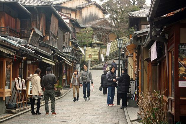 Higashiyama District Kobe shore excursions to Kyoto