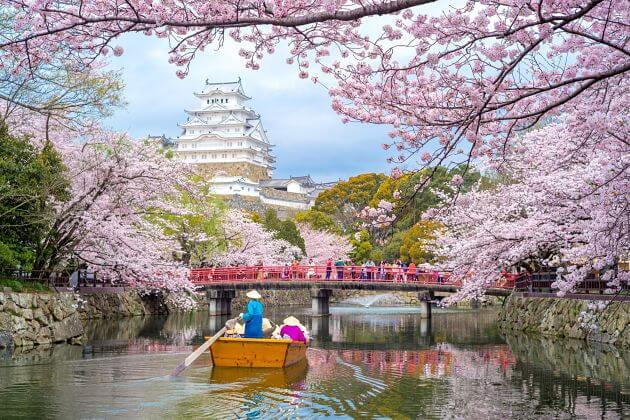 Himeji-castle-park-Kobe-shore-excursions
