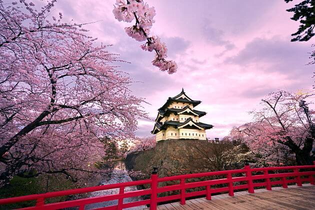 Hirosaki Castle attractions Aomori shore excursions