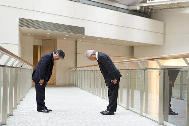 Japanese culture facts-Bowing