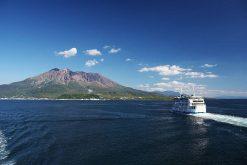 Kagoshima shore excursion to Sakurajima