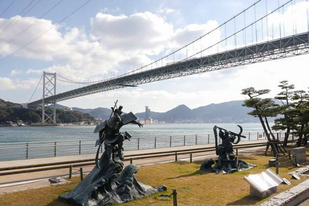 Kanmon Bridge Shimonoseki shore excursions