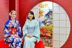 Kimono Experience in Hiroshima shore excursions