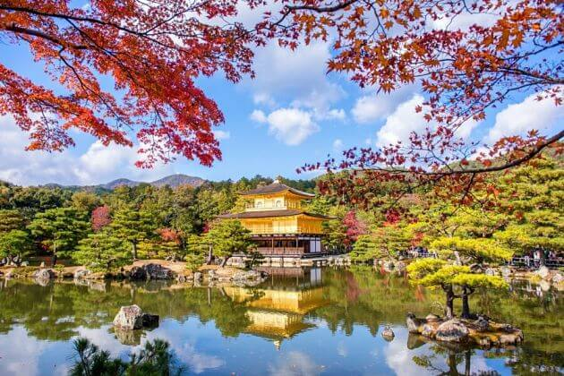 Kinkakuji Temple attraction Kyoto tours from Kobe port