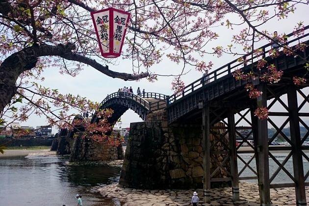 Kintaikyo Bridge-Hiroshima-shore-excursions