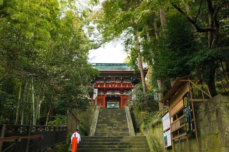 Kunozan Toshogu Shrine Shimizu shore excursions