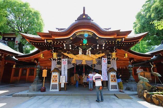 Kushida Jinja shrine Fukuoka shore excursions