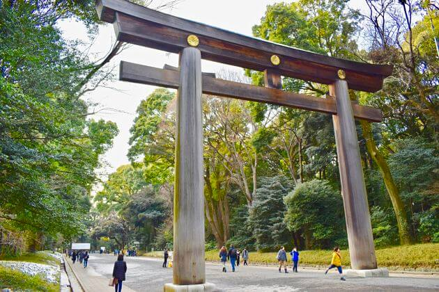 Meiji Jingu Shrine Yokohama attractions