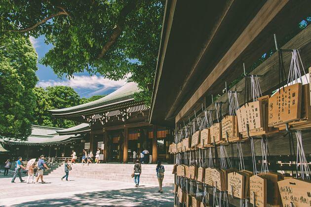 Meiji Shrine Tokyo shore excursions