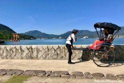 Miyajima rickshaw experience