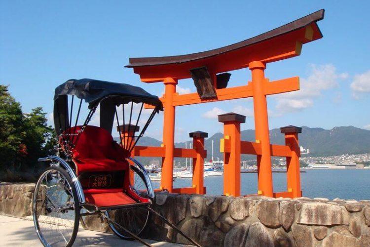 Miyajima rickshaw tour