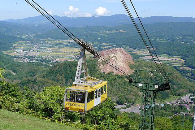 Mount Usu Ropeway Muroran shore excursions