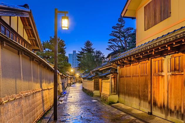 Nagamachi Samura district