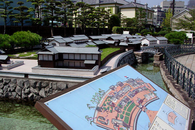 Nagasaki shore excursions Dejima Museum