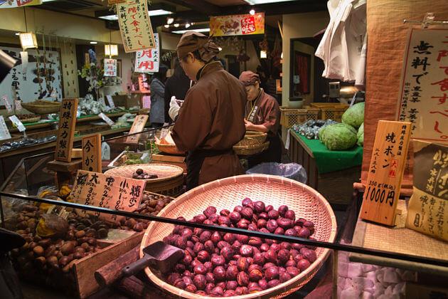 Nishiki-Market-Kyoto-Japan-shore-excursions
