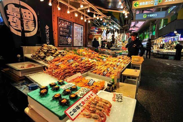 Omicho Market Kanazawa shore excursions