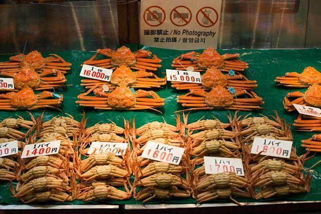 Omicho Market attractions Kanazawa shore excursions