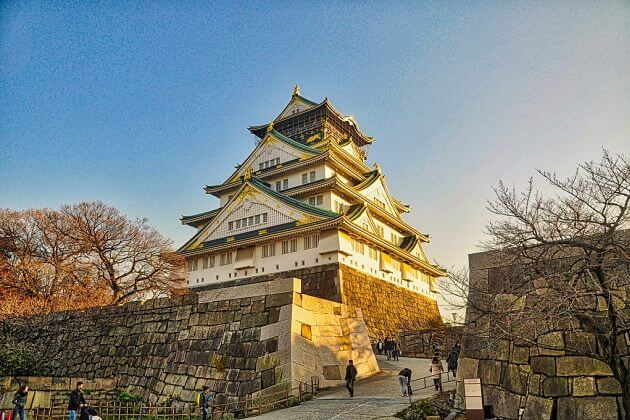 Osaka Castle attractions shore excursions