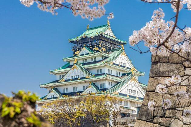 Osaka Castle shore excursions