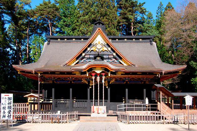 Osaki Hachimangu Shrine Ishinomaki shore excursions