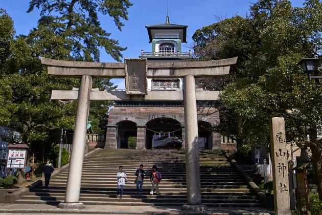 Oyama Shrine attractions Kanazawa shore excursions