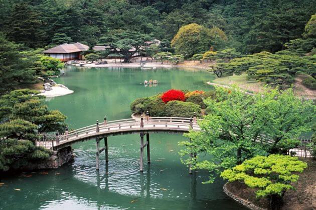 Ritsurin Garden Takamatsu shore excursions