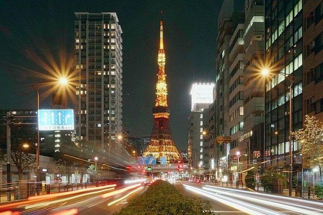 Sakuradori Street Capture Tokyo Tower