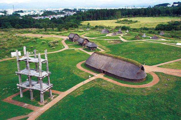 Sannai Maruyama Historical Site attractions Aomori shore excursions