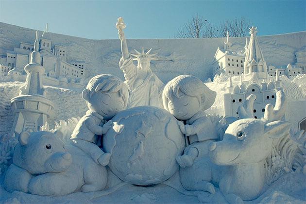 Sapporo Snow Festival Japan Day Trips