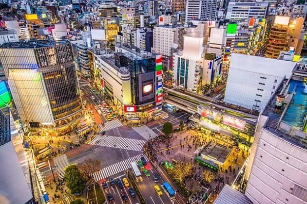 Shibuya Pedestrian attractions Tokyo shore excursions