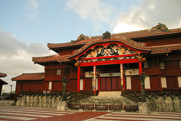Shuri Castle Naha Okinawa attractions