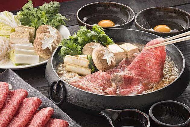 Sukiyaki Japanese hotpot