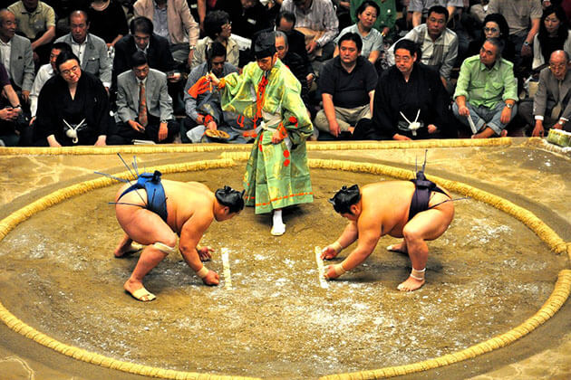 Sumo Experience in Nara