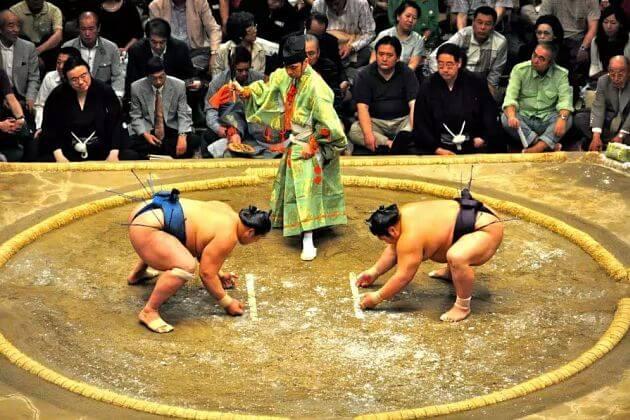 Sumo Match Japan Culture