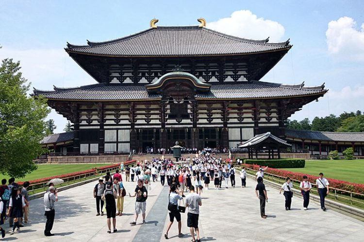 Todaiji temple Osaka Shore Excursions