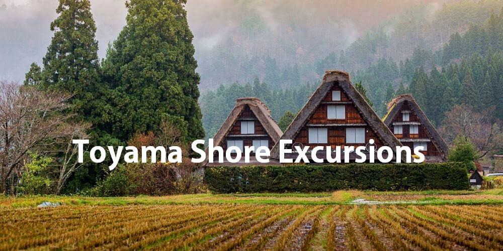 Toyama shore excursions