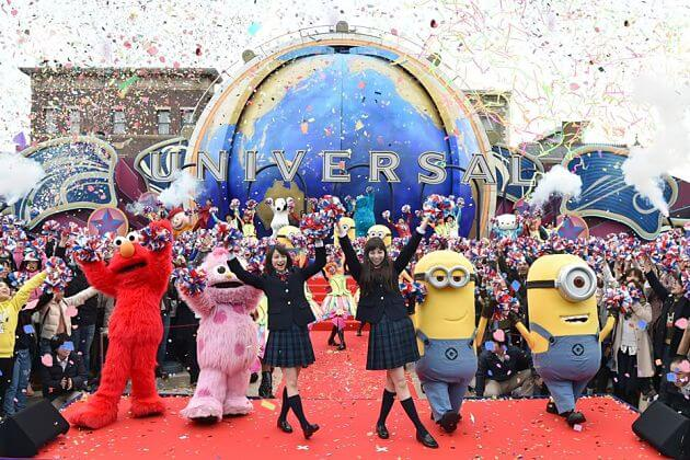 Universal Studios Japan attractions shore excursions